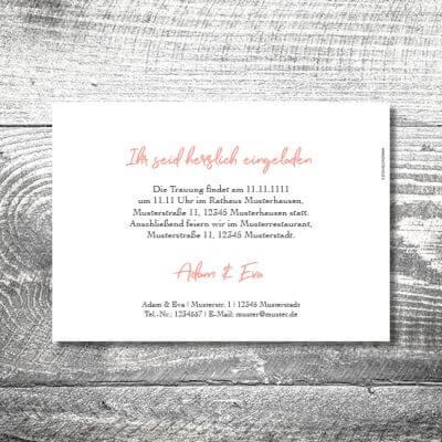 Hochzeit Anker | 2-Seitig | ab 0,70 €