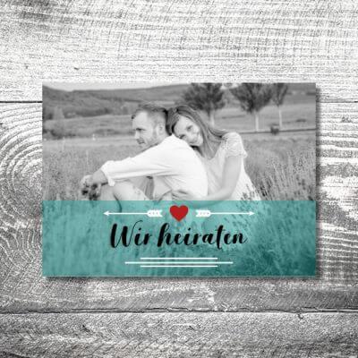kartlerei karten drucken hochzeitseinladung heiraten einladung fotolove 400x400 - Hochzeit Fotolove   4-Seitig   ab 1,00 €