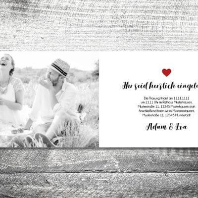 kartlerei karten drucken hochzeitseinladung heiraten einladung fotolove innen 400x400 - Hochzeit Fotolove   4-Seitig   ab 1,00 €