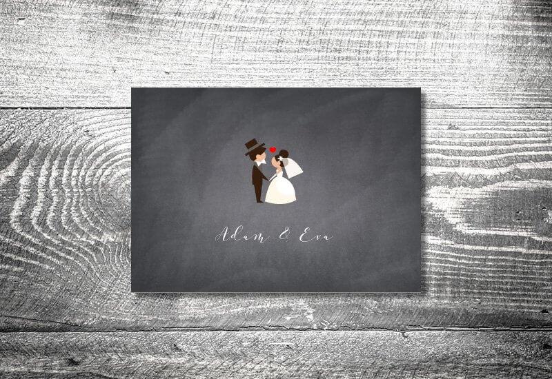 kartlerei karten drucken hochzeitseinladung heiraten hochzeitspaar - Hochzeitskarten Set