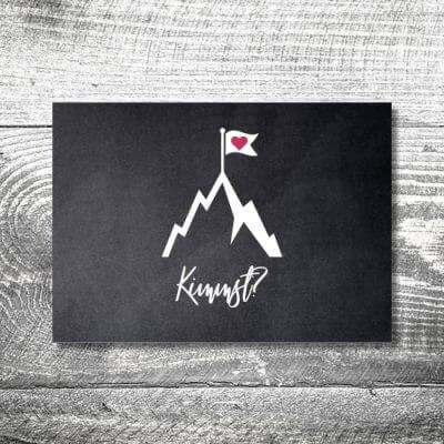 Gipfelliebe | 2-Seitig | ab 0,70 €