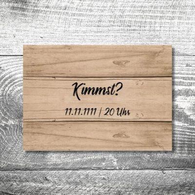 Kimmst Holz | 2-Seitig | ab 0,70 €
