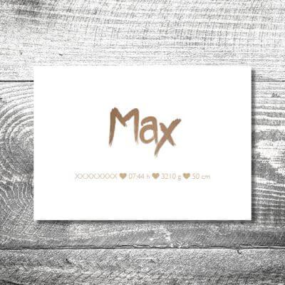 kartlerei karten drucken geburtskarten drucken babykarten bayrisch geburt banderole 2 400x400 - Banderole | 2-Seitig | ab 0,70 €