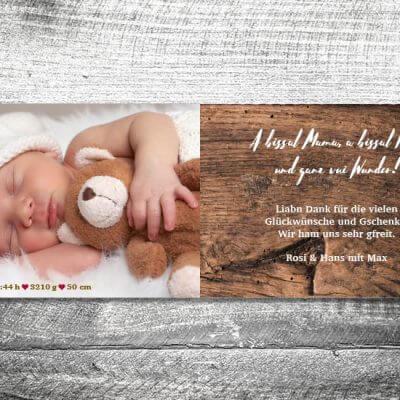 kartlerei karten drucken geburtskarten drucken babykarten bayrisch geburt filz 2 3 400x400 - Filz | 4-Seitig | ab 1,00 €