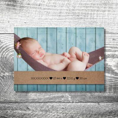 kartlerei karten drucken geburtskarten drucken babykarten bayrisch geburt kraftpapier 2 400x400 - Kraftpapier | 2-Seitig | ab 0,70 €
