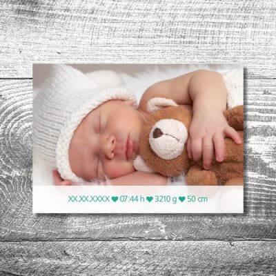 kartlerei karten drucken geburtskarten drucken babykarten bayrisch geburt lausbua 2 400x400 - Lausbua | 2-Seitig | ab 0,70 €