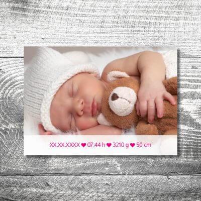 kartlerei karten drucken geburtskarten drucken babykarten bayrisch geburt lausmadl 2 400x400 - Lausmadl | 2-Seitig | ab 0,70 €