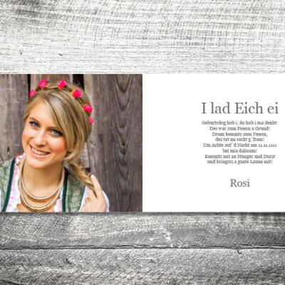 kartlerei karten drucken bayern geburtstagseinladungskarten bayrisch heimatgefuehl oans zwoa feiern 2 3 400x400 - Oans Zwoa Feiern | 4-Seitig | ab 1,00 €