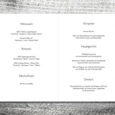 kartlerei karten drucken hochzeit heiraten menue menuekarte hirsch rosegold 2 3 400x400 - Menükarte Hirsch Rosegold