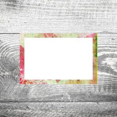 kartlerei tischkarte hochzeit leinenblumen 400x400 - Tischkarte Blumenleinen