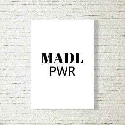 Poster/Bild Madl Power
