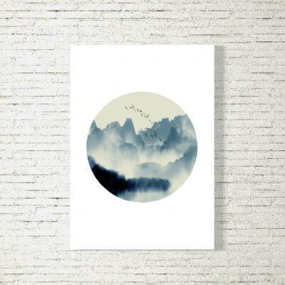 Poster/Bild Mountain