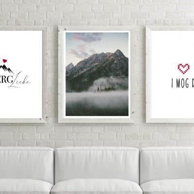 Poster-Set Berge I mog Di