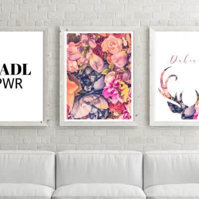 Poster-Set Madl Power