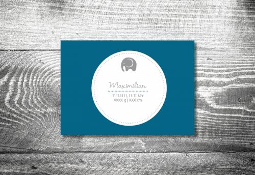 Elefant Junge | 4-Seitig