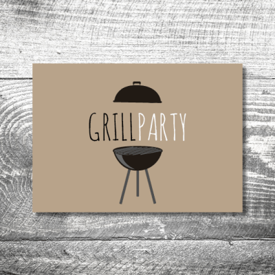 Grillparty | 2-Seitig | ab 0,70 €