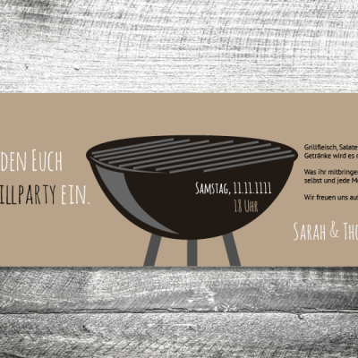 Grillparty | 4-Seitig | ab 1,00 €