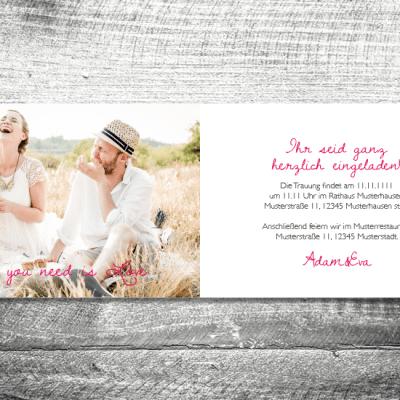 Hochzeit Blumenkranz | 4-Seitig