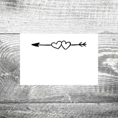 Tischkarte Amor