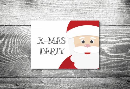 Party X-Mas | 2-Seitig