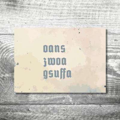 gsuffa | 4-Seitig | ab 1,00 €