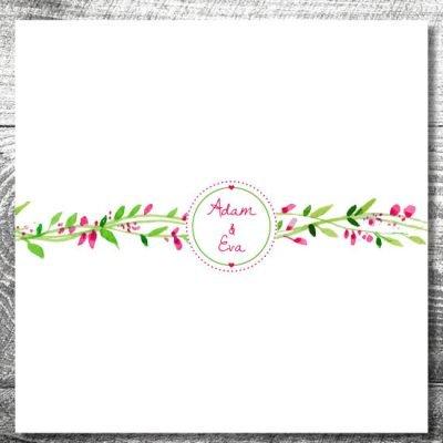 Gästebuch Blumenkranz