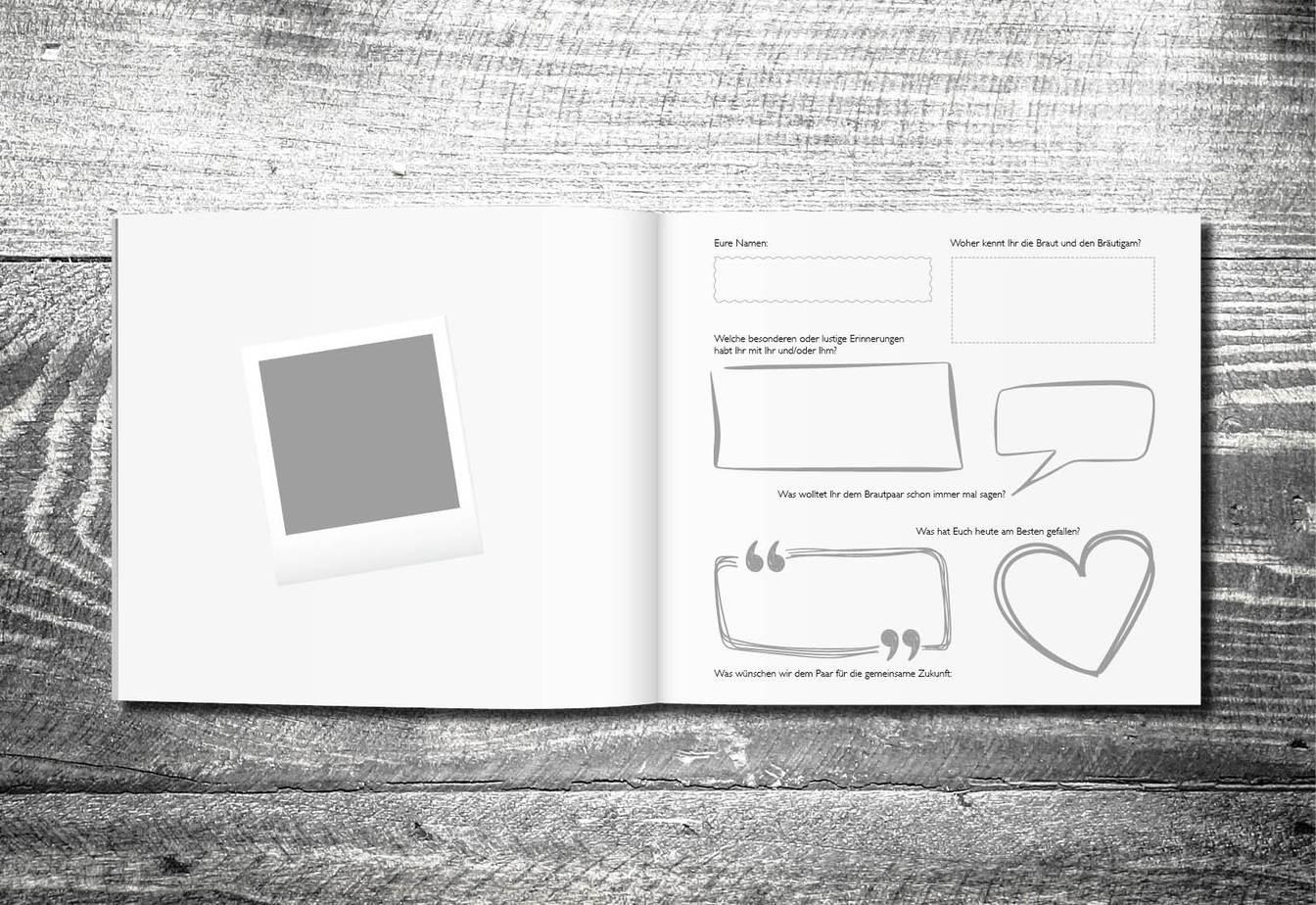Gästebuch Holz | ab 55,00 € | kartlerei