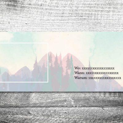 Der Berg ruft | 4-Seitig