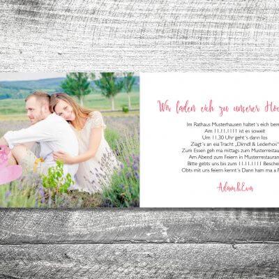 Hochzeit Herzballon | 4-Seitig | ab 1,00 €