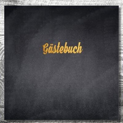Gästebuch Gold | ab 55,00 €