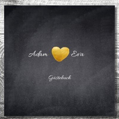 Gästebuch Herzgold | ab 55,00 €