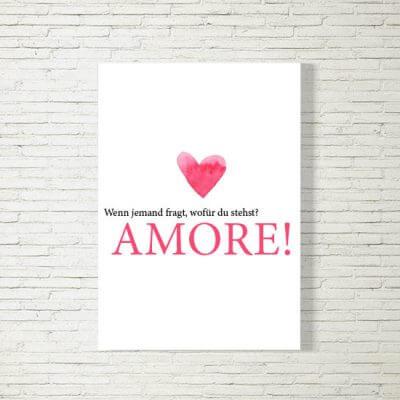 Poster/Bild | Amore