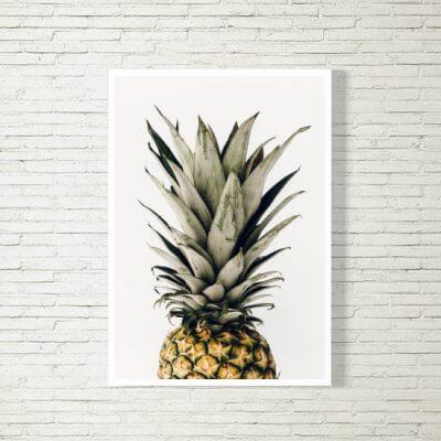 kartlerei poster bild drucken bayrisch spruch ananas 2 400x400 - Poster und Bilder