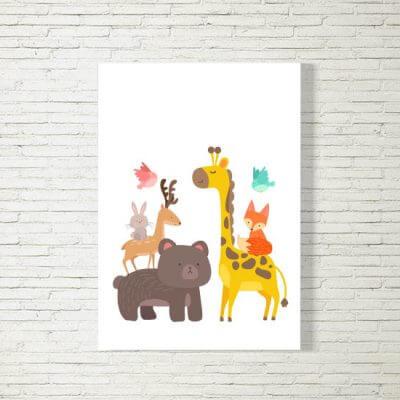 Poster/Bild | Babys Freunde