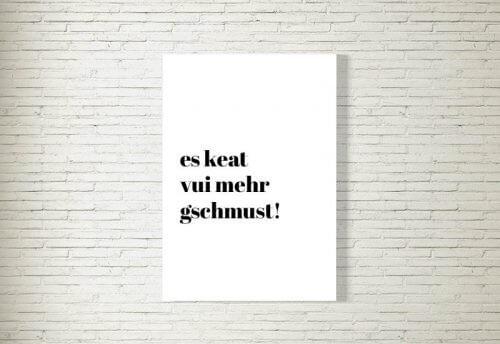 Poster/Bild | Mehr Schmusn