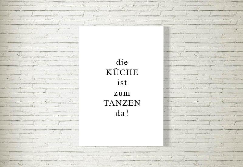 Poster/Bild | Küche | kartlerei