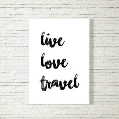 kartlerei poster bild drucken bayrisch spruch live love travel 400x400 - Poster und Bilder