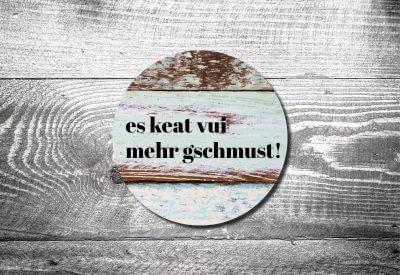 kartlerei bierdeckel drucken bayern bayerisch heimatgefuehl mehra schmusn 400x275 - Geburtstagseinladung auf Bayrisch