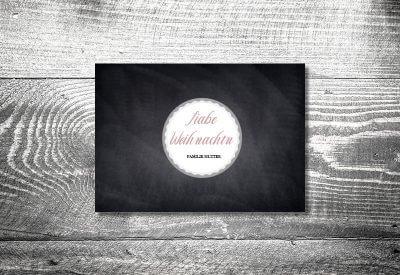 kartlerei karten drucken gestalten bayrische weihnachtskarten tafel 400x275 - Sprüche und Texte für Weihnachtskarten