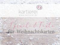 kartlerei weihnachtskarten sprueche und texte einladungskarten bayrisch - Sprüche und Texte für Weihnachtskarten