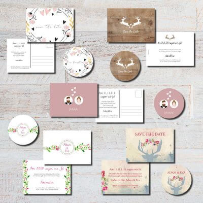 save the date heiraten hochzeit kartlerei karten bierdeckel drucken 400x400 - kartlerei Magazin