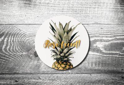 kartlerei bierdeckel drucken einladung geburtstag ananas 400x275 - Bierdeckel Nachhaltigkeit