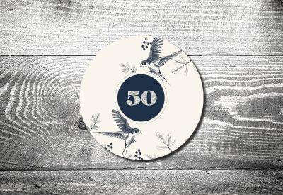 kartlerei bierdeckel drucken einladung geburtstag freier vogel 400x275 - Bierdeckel Nachhaltigkeit