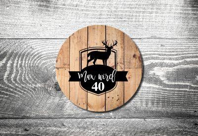 kartlerei bierdeckel drucken einladung geburtstag hirschlogo 400x275 - Bierdeckel ABC
