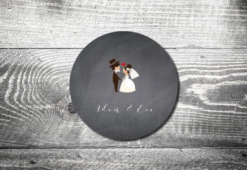 Bierdeckel Hochzeit Hochzeitspaar