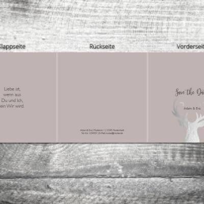 Hochzeit Silberner Hirsch | 6-Seitig