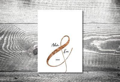 kartlerei karten drucken hochzeit heiraten menue menuekarte wood 400x275 - Bierdeckel drucken als Menükarte Hochzeit