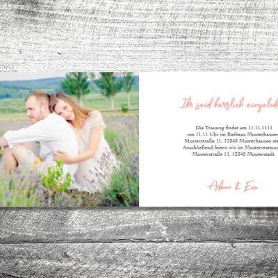 Hochzeit Anker | 4-Seitig | ab 1,00 €