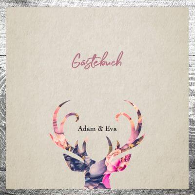 Gästebuch Floralhirsch | ab 55,00 €