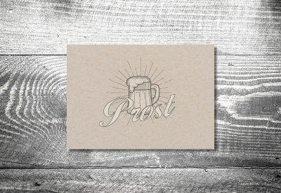 kartlerei karten drucken bayern geburtstagseinladungskarten bayrisch prost 400x275 - Geburtstagseinladung auf Bayrisch